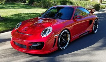 Porsche 997 Gemballa Avalanche Tribute. $160,000 USD Appraisal.