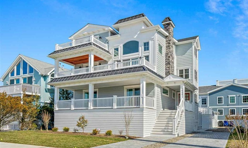 Upside Down, Three Story, Single Family - Avalon, NJ