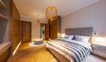Refined Grand Apartment in Prague's New Town