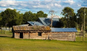 The Old Knowles Ranch, a Spectacular Working Ranch in British Columbia
