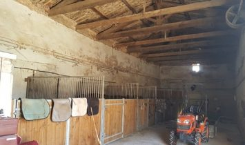Equestrian Domain On 23570 m2 With Maison De Maitre, Parc, Barns And Brand New Horses Manege.