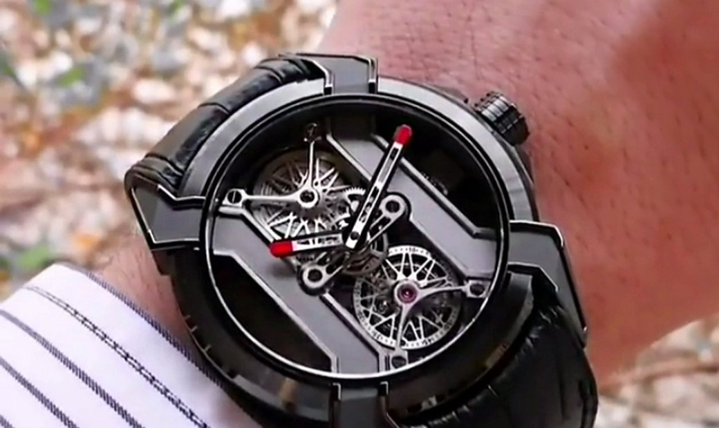 Jacob & Co. 捷克豹 EPIC X Tourbillon Black DLC Titanium EX101.21.PS.PP.A (Retail:HK$1,088,200)