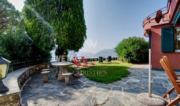 Elegant villa in Castagnola in a dominant position with wonderful lake view