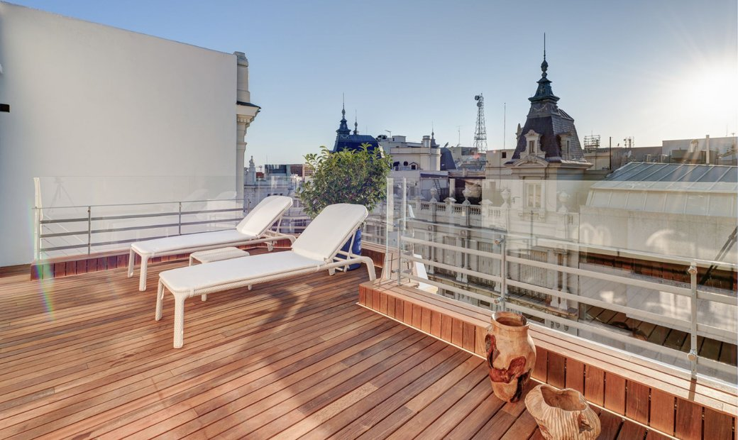 Spectacular Penthouse With Two Terraces