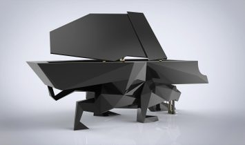 Absolutely Stunning Self-Playing Panther Piano - Help Support Big Cat Conservation