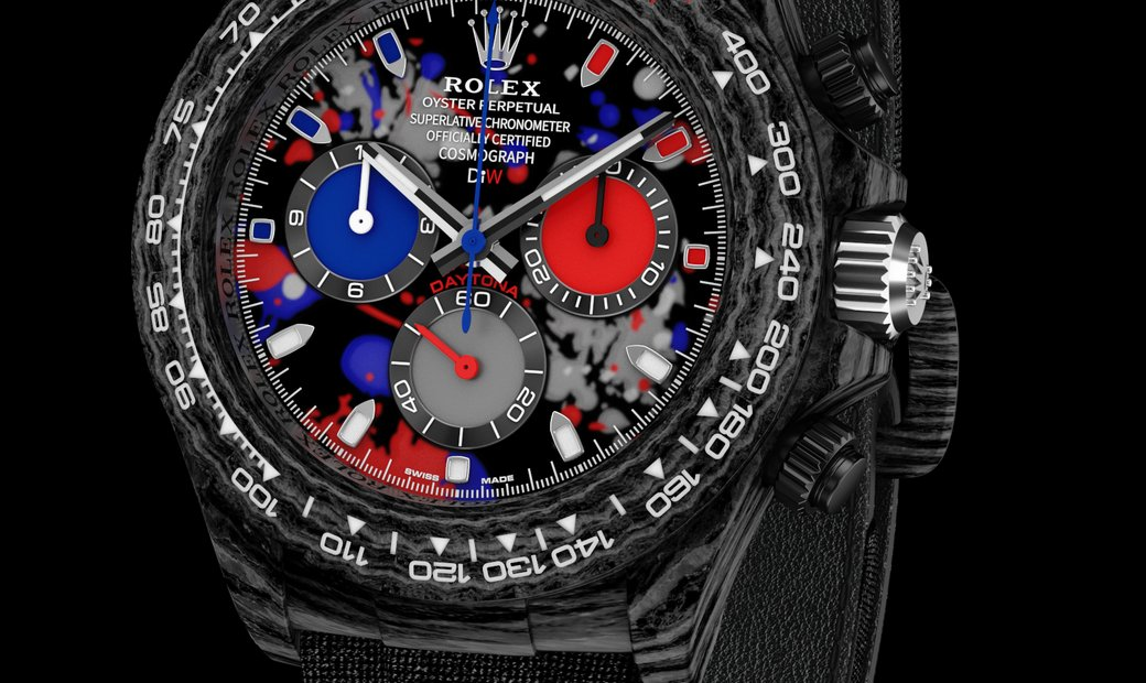 "Rolex DiW Cosmograph NTPT Carbon Daytona ""MOTLEY 3S"" (Retail:US$52,990)"
