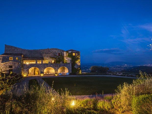 Castle in Umbria, Italy 1