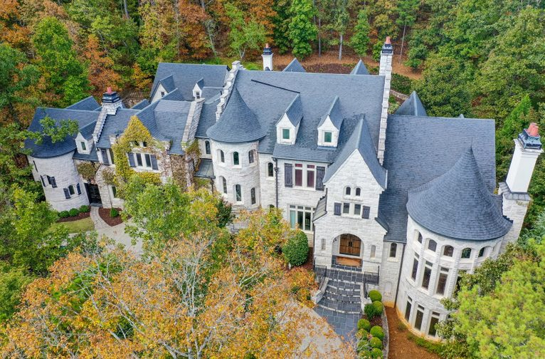 Extraordinary Old World Home Reminiscent Of A European Chateau