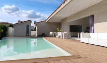 Secteur Ste Marie : Villa D'architecte Sur 1500m² Avec Piscine