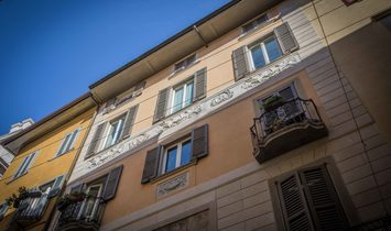Penthouse to renovate in Città Alta.