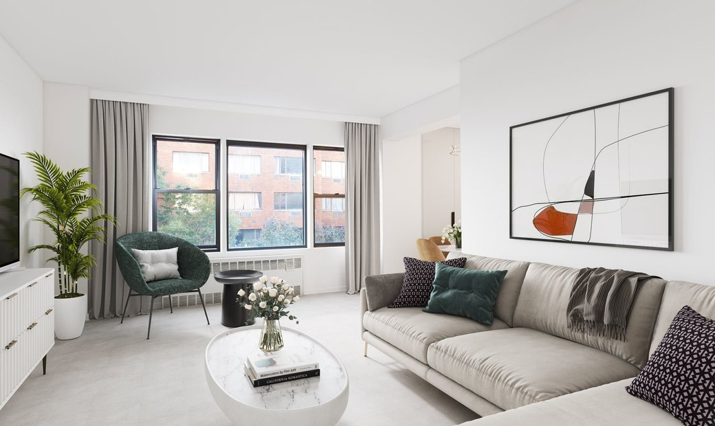 Spacious South Facing One Bedroom