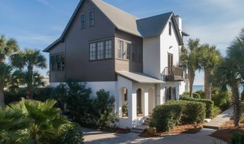 Panoramic Gulf Views From This Sought After Beach Cottage