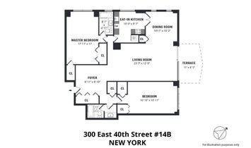 300 East 40th Street, 14 B