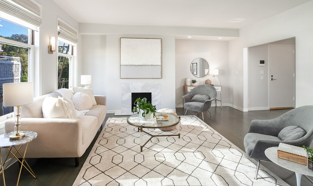 Elegant Home In The Heart Of Pacific Heights