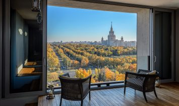 Luxury Penthouse With Panoramic Views In The Residential Complex Lomonosov