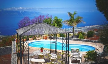 Unique finca with sea view, garden and pool in Guia de Isora - Tenerife South