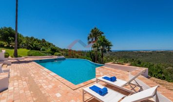 4 bedroom villa with panoramic sea view - Albufeira