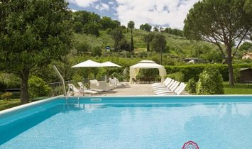 2 Farmhouses in the green countryside about 13 km from Lucca