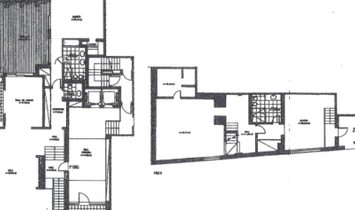 Apartment with courtyard, three suites and two parking spaces