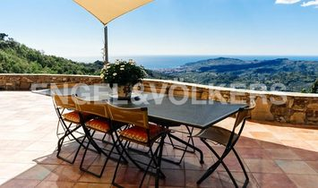 Wonderful Villa on the Diano Hills with Sea View