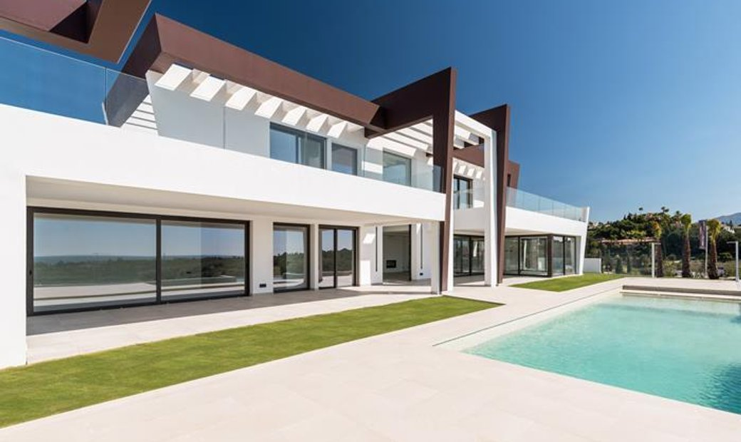 LUXURY MODERN VILLA IN LOS FLAMINGOS GOLF AND RESORT