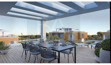 Modern villas in luxury condominium
