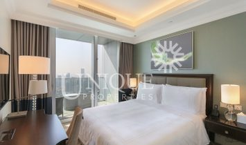 Above 45 Flr | Full Burj and Fountain view