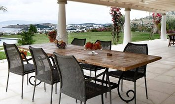 French style luxury sea view villa in Bodrum