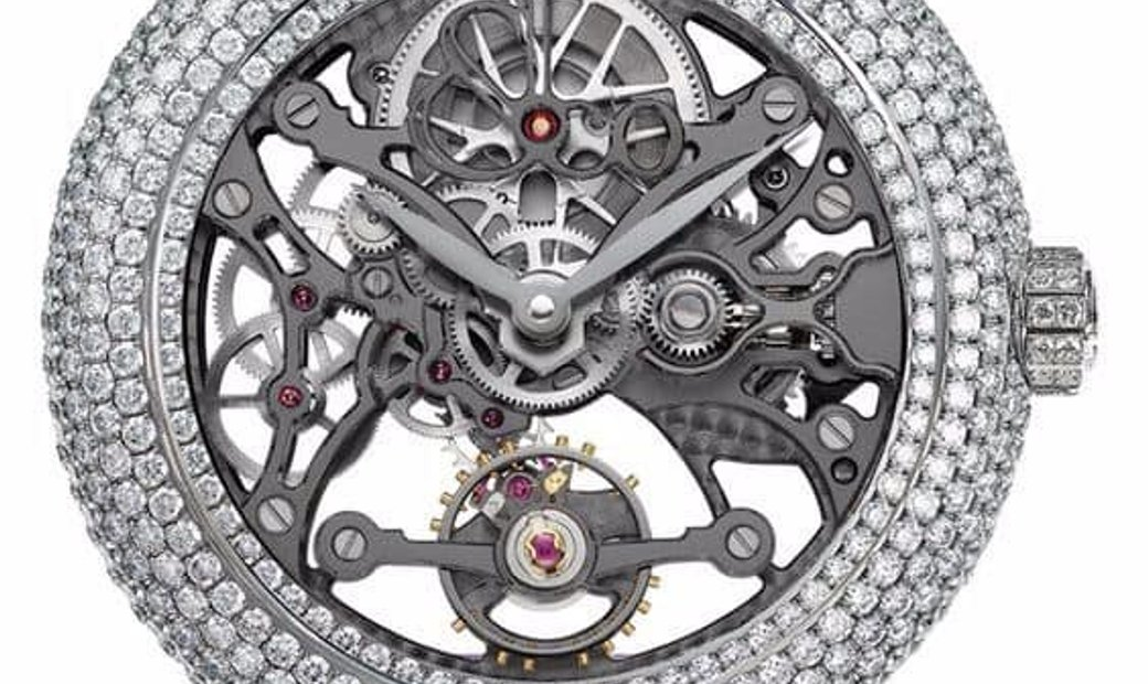 Jacob & Co. 捷克豹 [NEW] Brilliant Skeleton Jewelry Steel BS431.10.RD.AB.A (Retail:HK$558,400)
