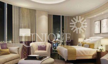 Hotel Apt | High Floor | Burj and Fountain View