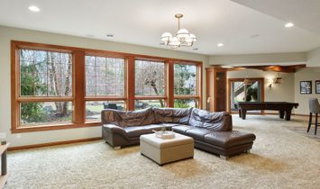 Custom Built Home With Privacy In Wild Meadows, Medina