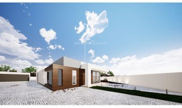 Detached house T4 with pool salt water-land 1117m2