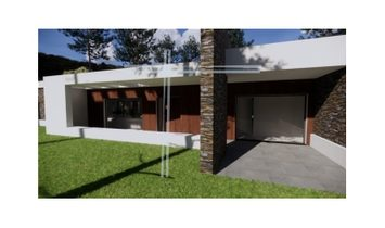 Detached house 5 bedrooms single storey, 1238m2 Ground, Basement with Garage, Lounge and Office pool