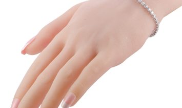 LB Exclusive LB Exclusive 14K White Gold ~3.00ct Diamond Tennis Bracelet
