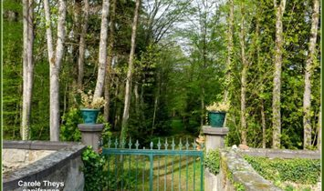 Dpt Puy de Dôme (63), for sale in the valley of the Dore Castle of the nineteenth century on a plot