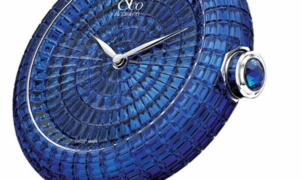 Jacob & Co. 捷克豹 Brilliant Full Baguette Blue Sapphire 44mm BA534.30.BB.BB.A (Retail:HK$3,340,800)