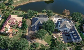 Single Floor Luxury Home On Lake With Golf Course Views