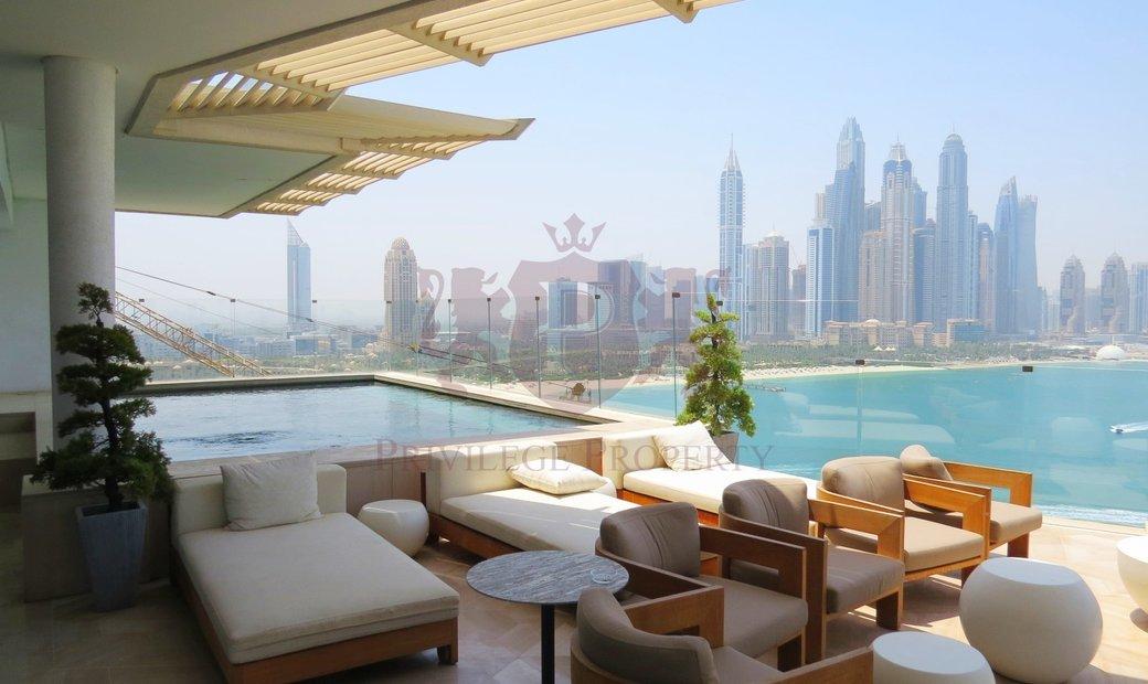 Penthouse for rent in Palm Jumeirah Dubai