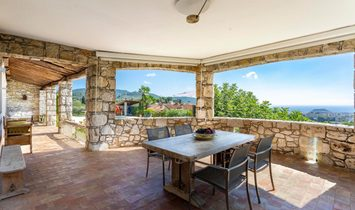 For Sale In Nice Rimiez, A Charming House With Panoramic Sea Views