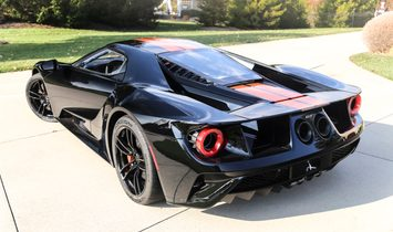 2017 Ford Ford GT 46 miles - Competition Orange Stripes