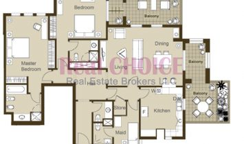 Ready 2BR |Stunning View |No Commission|No DLD Fee