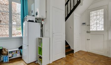 Nice Town House In Paris 13th – Maison Blanche