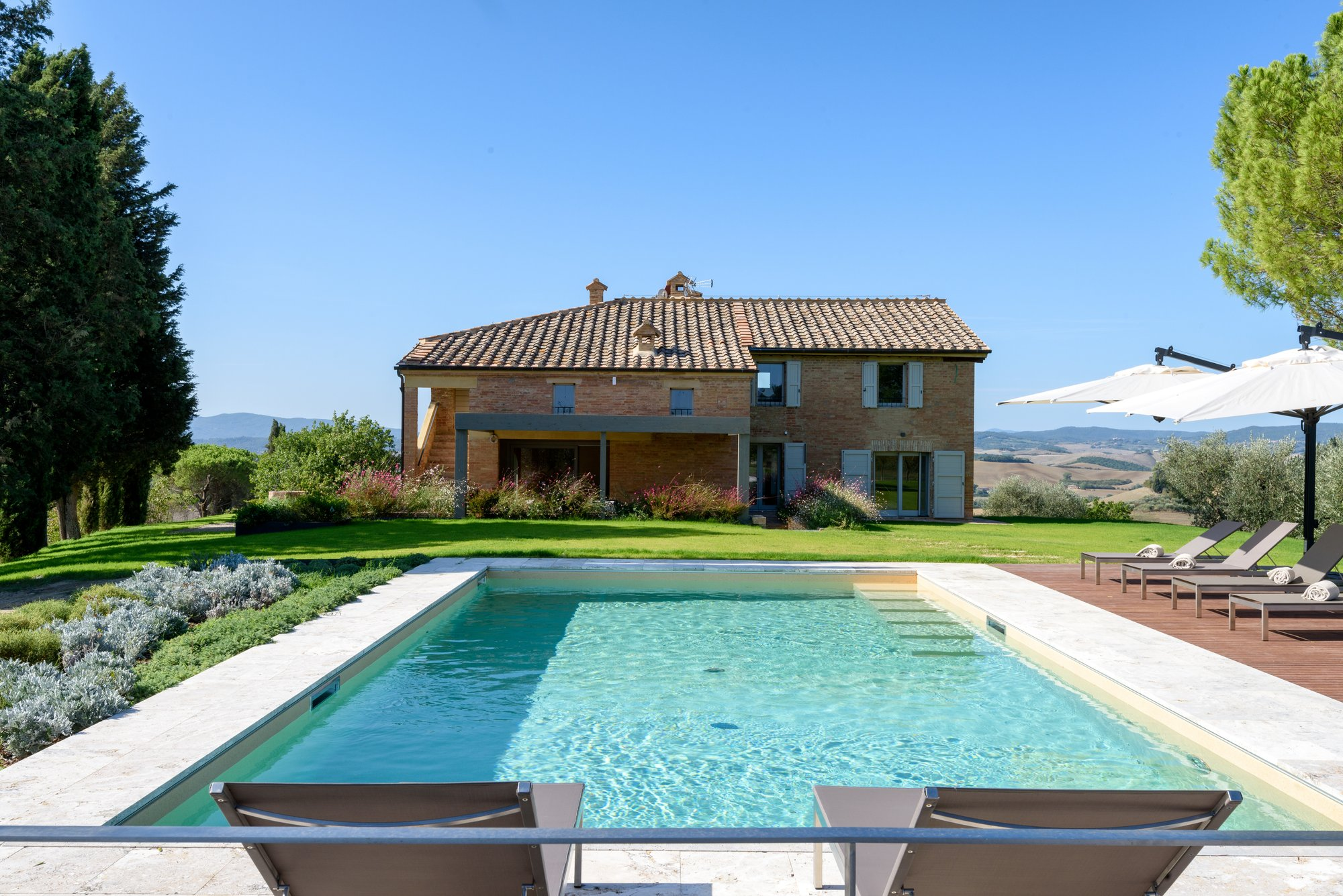 Villas Near Siena Italy poggio al sole luxury villa for vacation in tuscany in siena
