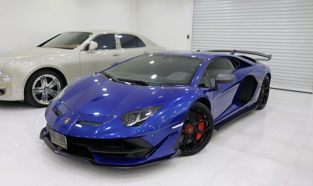2019 Lamborghini SVJ awd