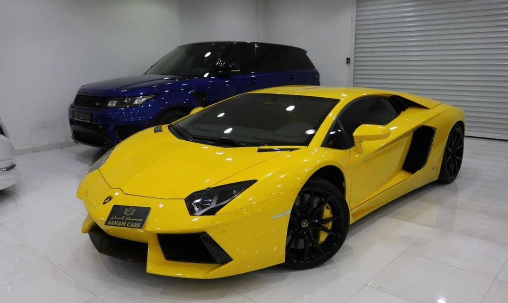 2015 Lamborghini Aventador awd