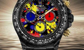 "Rolex DiW Cosmograph NTPT Carbon Daytona ""MOTLEY 3G"" (Retail:US$54,990)"
