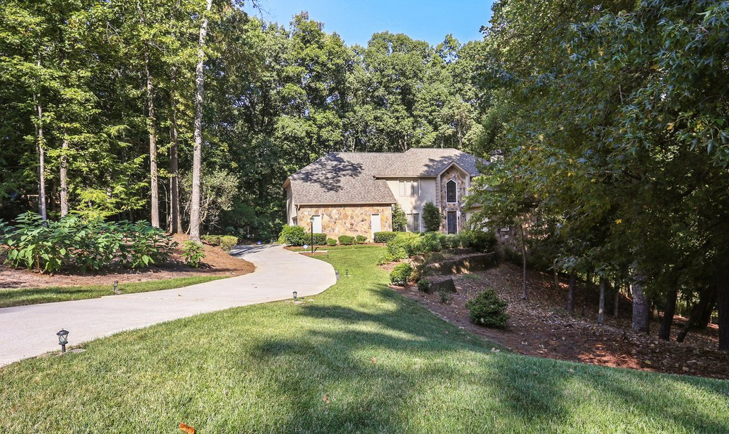 Meticulously Maintained Home On 1.1+ Beautiful Acres In Roswell