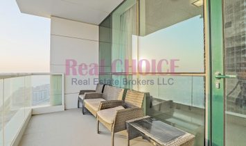High Floor|2BR+Maid Fully Furnished Apartment