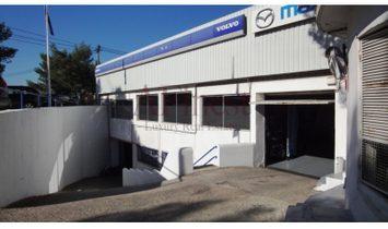 Workshop of maintenance and repair of motor vehicles