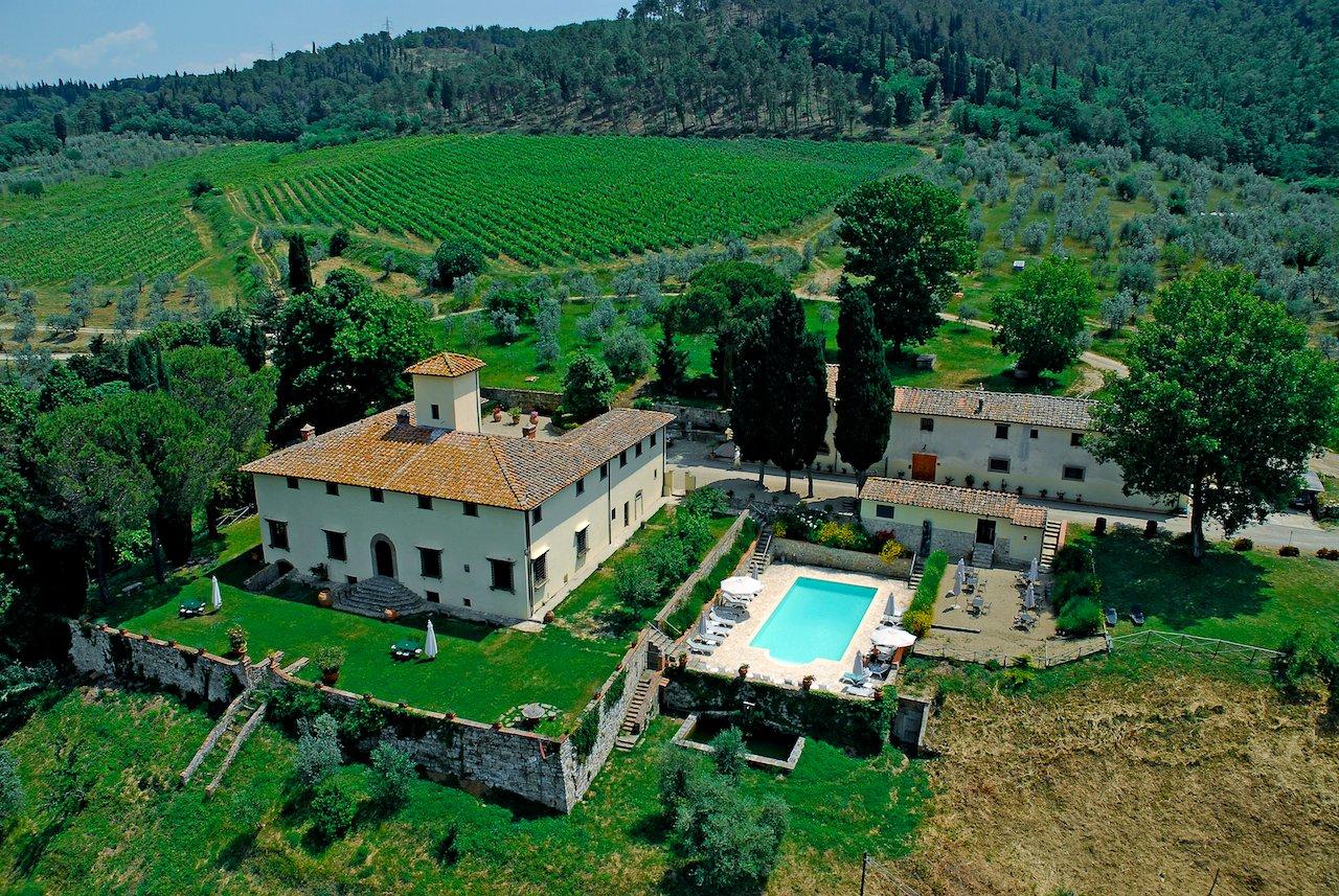 Villa in Tuscany, Italy 1